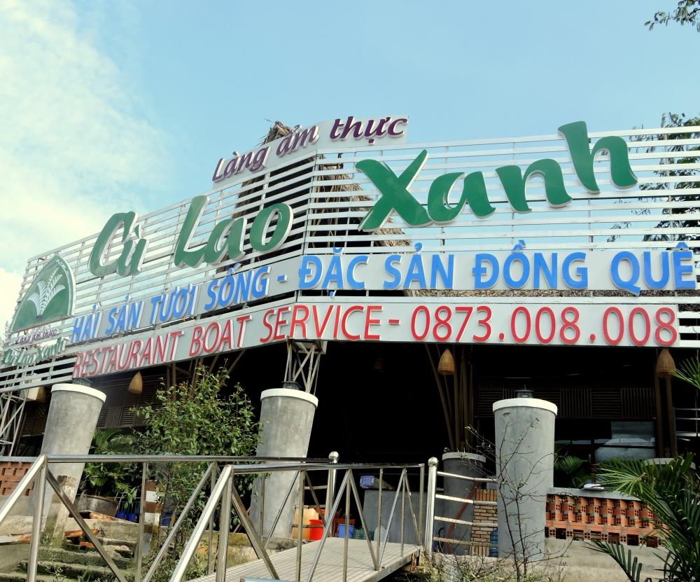 Genco.vn] Làng Ẩm Thực Cù Lao Xanh Triển Khai WiFi Marketing 3.0 ...